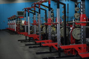 Weight racks at PFR performance